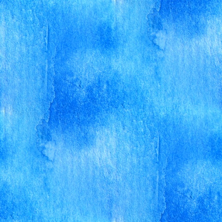 Blue Seamless Watercolor 1
