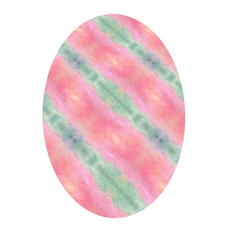 Watercolor Pattern Easter Egg 1 Stock Photo - 12337207