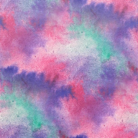 Pink and Purple Seamless Watercolor