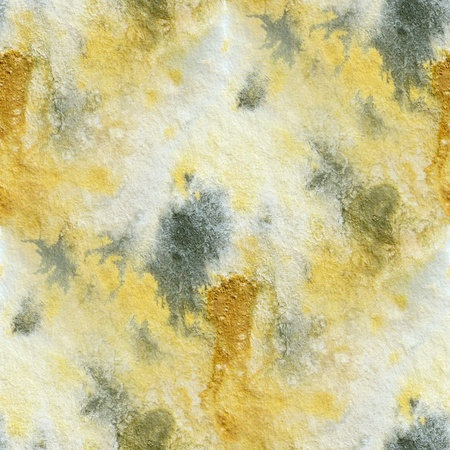 Seamless Black White and Yellow Watercolor 2 Stock Photo - 12672933