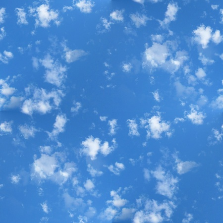 Seamless Clouds and Blue Sky photo
