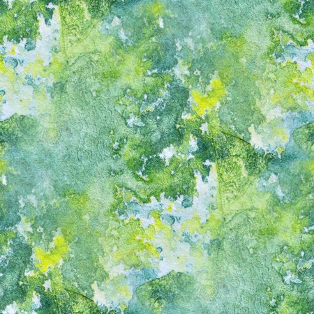 Seamless Green and yellow Watercolor