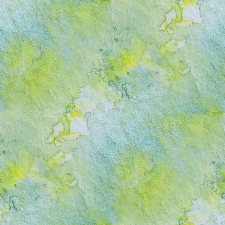 Seamless Green and yellow Watercolor  photo
