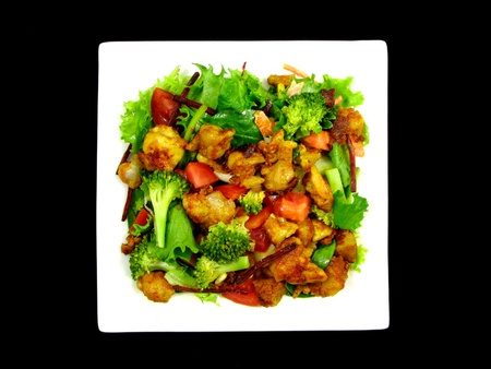 broccoli salad: Satay Chicken Salad