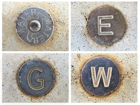 Roadside Utility Service Buttons photo
