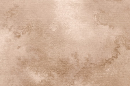 Sepia Watercolor Background 1 Stock Photo - 13361203