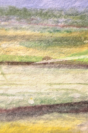 Green Yellow Brown and Blue Watercolor Textures 6 Stock Photo