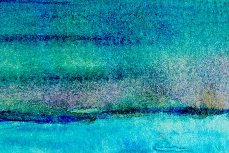 painterly: Turquoise Watercolor Background 1