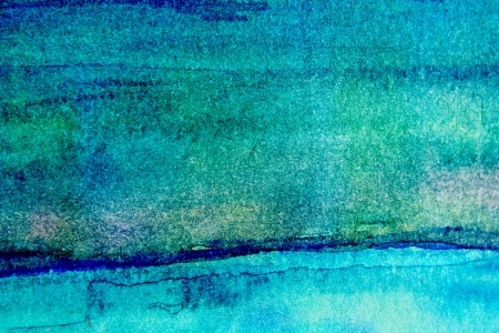 Turquoise Watercolor Background 2 photo