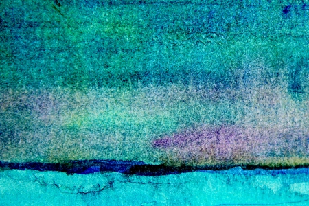 painterly: Turquoise Watercolor Background 3 Stock Photo