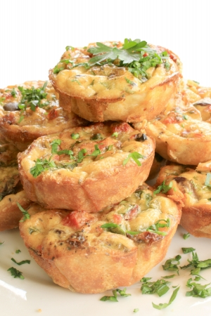 Mini Quiches 4 Stock Photo