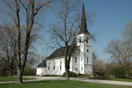 Old country church in Michigan Stock Photo - 5266390