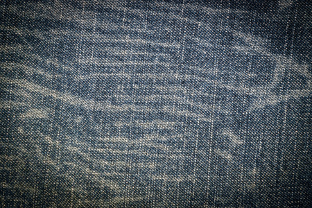Stained denim fabric photo