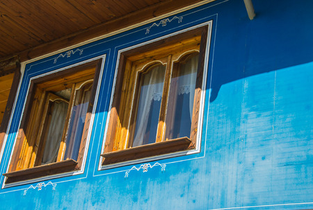 ethnographic: Old bulgarian house in ethnographic village Koprivshtitsa
