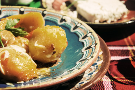 continental food: Traditional bulgarian dish