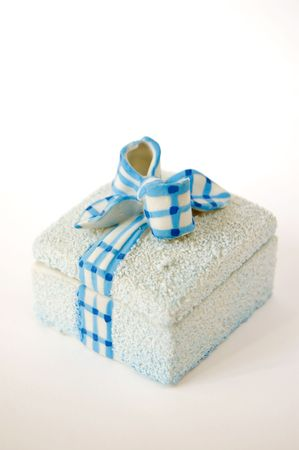 A small casket in the form of a gift box Stock Photo - 4844891