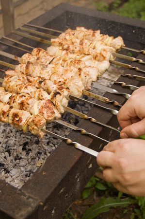 chargrill: Delicious kabobs on a char-grill