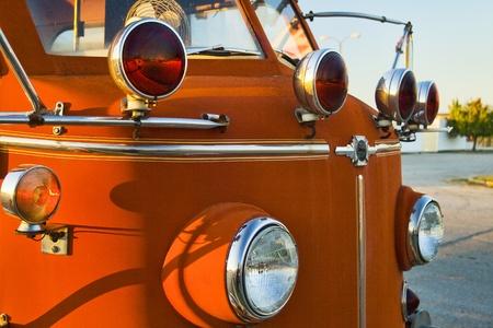 pumper: Classic La France Fire Engine Pumper Truck Stock Photo