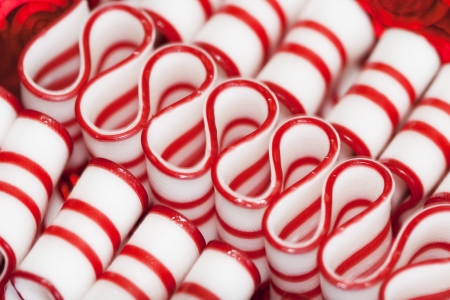 goodies: Red and White Peppermint Christmas Ribbon Candy