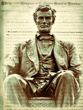 Emancipation Proclamation and Abraham Lincoln     Stock Photo - 17536672