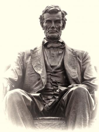 Adolph Alexander Weinman Bronze Statue of Abraham Lincoln
