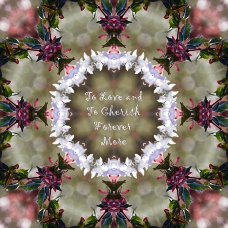 curare teneramente: Per amare e ad apprezzare caleidoscopio floreale