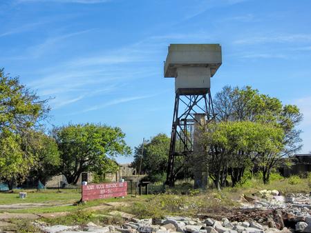 brig: Historic Fort Wool Virginia USA Guard Tower