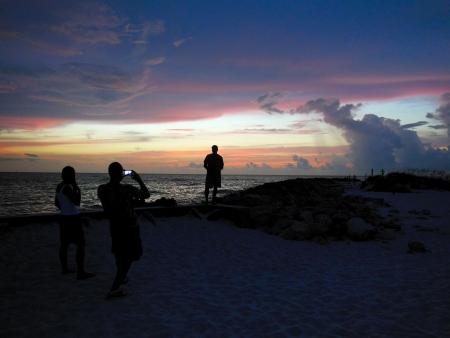 Foto in Front van Sunset