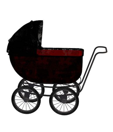 papoose: carriage with wheels