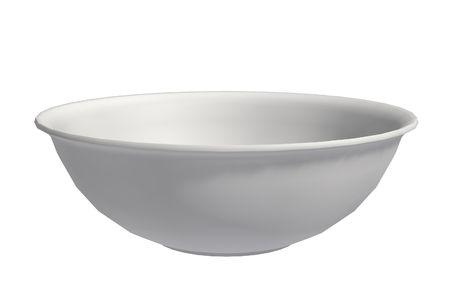 A white bowl Stock Photo