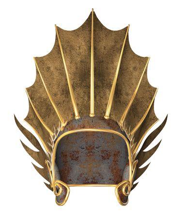 Gold helmet Stock fotó