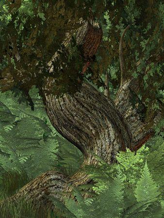 domains: Jungle Background