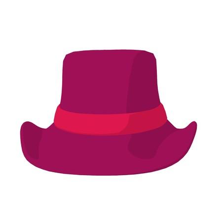 Fashion hat on a white background Reklamní fotografie