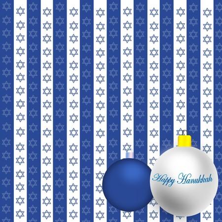 Happy Hanukkah Illustration Stock Illustration - 8087074