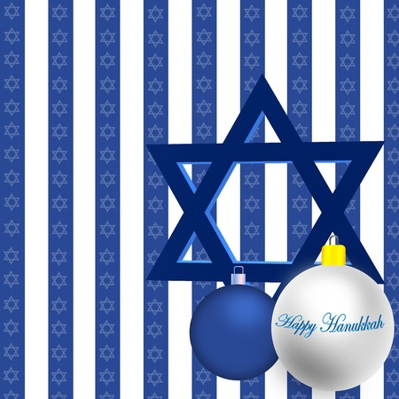 Happy Hanukkah Illustration illustration