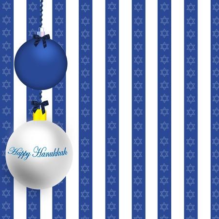 Happy Hanukkah Illustration Stock Illustration - 8087039
