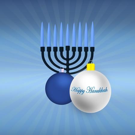 Happy Hanukkah Illustration Zdjęcie Seryjne