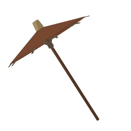Umbrella illustration on a white background Stock Illustration - 8619411