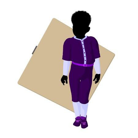baseball diamond: African american teen baseball player with a baseball diamond on a white background