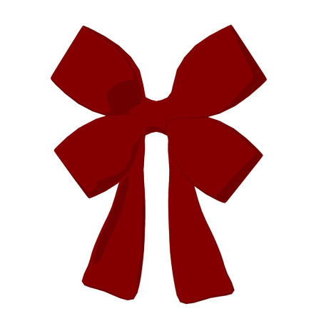 Rode Kerstmis Bow