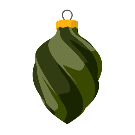Green and Olive Ornament