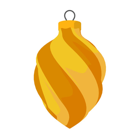 Yellow and Orange Ornament