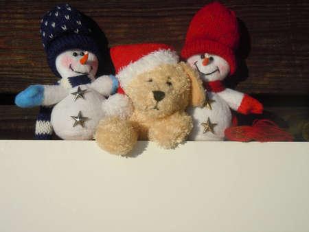 christmas stuffed toys advertisement