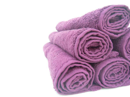 towel  spa  bathroom: towels and empty space for text