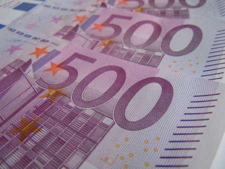 eur: five hundred euro bills