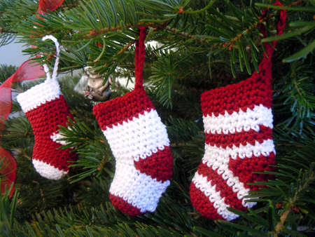 three wishes: crochet christmas decoration