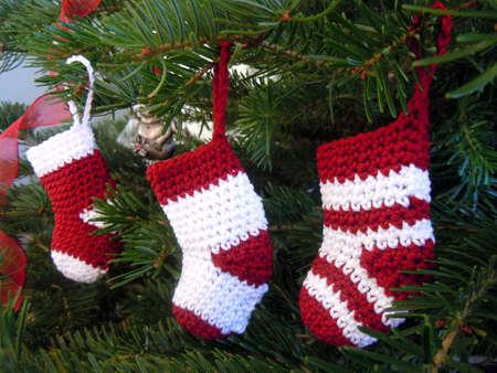 crochet Weihnachtsdekoration