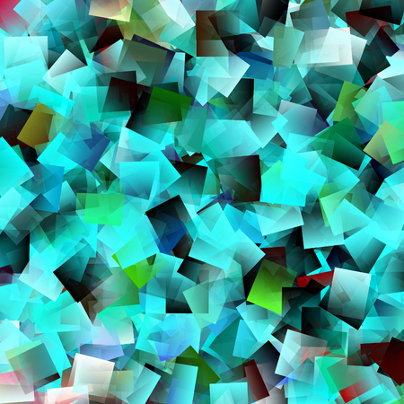 aqua abstract background square cube pattern texture photo