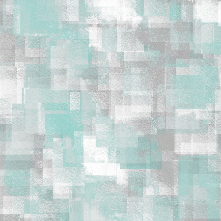 light blue vintage background grain texture abstract cubes pattern photo