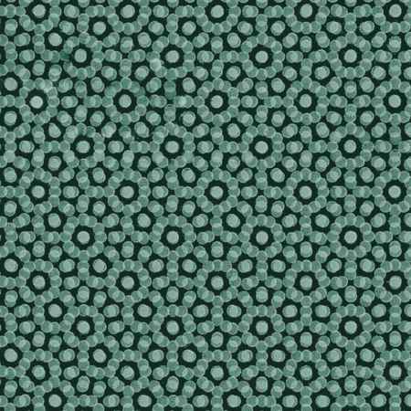 green abstract background circle pattern daisy chain decorative motif photo